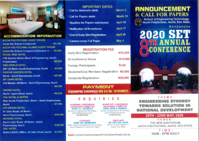 SETCON2020 flyer front